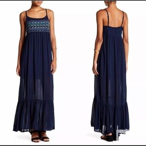 Embroidered Boho Maxi Dress Romeo & Juliet Couture
